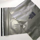 Resistente al agua caliente de venta de envases de plástico de color plateado de la bolsa de correo