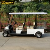 Тележка гольфа 4 мест электрическая с рамкой утюга