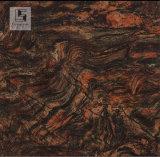 Mattonelle di pavimento nere eccellenti della porcellana del marmo della copia dell'ente completo