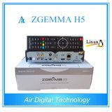 DVB-S2 DVB-T2/C 리눅스 운영 체제 지원 Hevc H. 265를 가진 결합 HD 수신기 Zgemma H5 디지털 텔레비젼 수신기