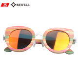 2017 Fashionable Women Girls Wooden Sunglasses