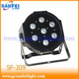 Индикатор мини-Stage фонари 7*4W PAR лампа