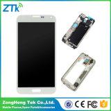 Экран касания LCD мобильного телефона для индикации галактики S5 LCD Samsung