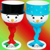 Idées de l'artisanat pour les enfants / Fête de Noël Fournitures / Vaisselle - Bonhomme de neige Goblet Set (WL7247)