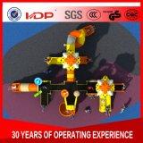 Os brinquedos das crianças equipamentos de playground de plástico A16-054HD