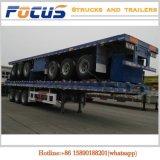 Tri Plattform-halb Schlussteil-LKW der Wellen-40FT für speziellen Transport