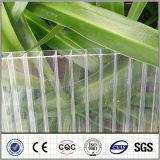 Blad van het Polycarbonaat van de tweeling-Muur van Bayer het Holle Plastic voor Bouwmateriaal