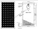 Panneau solaire de 100 W