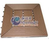Azulejo del Decking de 305*305*22 WPC, Decking de WPC, Decking, compuesto plástico de madera