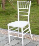 بيضاء راتينج [تيفّني] كرسي تثبيت لأنّ عرس