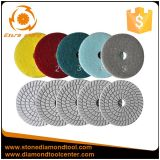 5 étapes Diamond Polishing Pads souples en résine humide