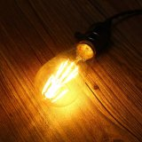E27 St64 8W effacent lampe AC110/220V de lumière d'ampoule de l'ÉPI DEL de filament de cru de Dimmable Edison de couverture la rétro