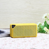 Lauter Bluetooth Lautsprecher der Großhandelspreis-beweglicher Stereolithographie-X3