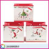 Soem-kundenspezifischer Papiergeschenk-Beutel/Einkaufstasche/verpackenbeutel mit Griff für Weihnachten