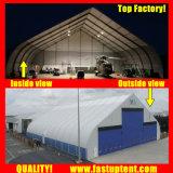 ケイタリング300の人のSeaterのゲストのための白いカーブの玄関ひさしのテント