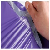 Impermeabilizar el bolso plástico rojo modificado para requisitos particulares del embalaje de la ropa/del regalo