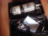 Respirador del aire del oxígeno de la fibra 6.8L del carbón para la lucha contra el fuego