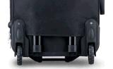 2つの車輪外部旅行荷物のスーツケース