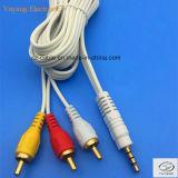 3.5mm/3.5, 6.35mm/6.35, (1/4 duim) StereoStop 6.5mm/6.5 aan 2xrca Av/tv- Audio/de Kabel van Media