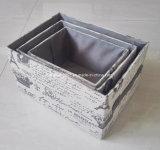 Caja de almacenamiento de tejido por juegos