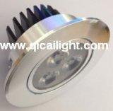 poder más elevado Downlight de 3X1w LED