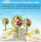 Slim Horloge voor GPS van Kinderen Sos van de Kaart SIM van de Vraag SMS van de Drijver