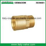 OEM y ODM hembra Adaptador de acoplamiento de latón (AV-BF-7009)