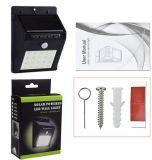 20 LED-Solarladung-Batterie-im Freienbewegungs-Fühler-Wand-Licht