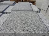Tuile normale du granit G640 de Qaulity de construction d'épaisseur élevée du matériau 2cm pour l'escalier