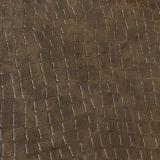 Cuoio sintetico del PVC del coccodrillo alla moda per il sacchetto di mano