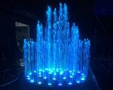 Малое управление СИД нот освещает фонтан воды нержавеющей стали