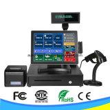 Завершите машину системы POS экрана касания трактира с двойным экраном