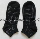 Calcetines escotados peinados manera de los hombres del algodón