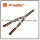 L'aluminium télescopique traite des cisaillements de haie avec les lames droites en acier trempé