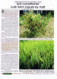 [أونيغروو] تربة مكثف لأنّ أرزّ يزرع