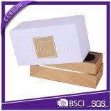 Подгонянные коробки метки частного назначения дешевого пустого подарка уникально твердые