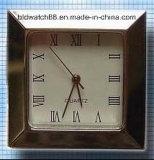 Мини-часы квадратные случае кварцевые часы вставки с Японией движения