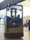 O Forklift do caminhão do alcance senta-se na capacidade 1600kgs