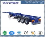 Cimc 40FT drei Anxle Skeleton Chassis-halb Schlussteil-LKW-Chassis