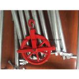 Конструкция лесов оборудует колесо джина ремонтины рамки (TPCTSGW001)