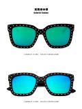 Lunettes de soleil en plastique de mode en plastique Lunettes de soleil polarisées