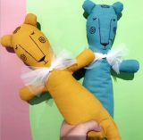 Giocattolo della bambola dell'animale farcito del giocattolo della peluche del leone