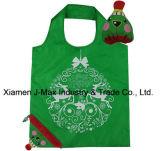 Saco de compras dobrável, estilo palhaço, reutilizável, leve, sacos de supermercado e acessível, presentes, promoção, sacola, decoração e acessórios
