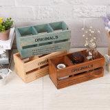 Casella di legno fine per Friuts/giocattoli/Jewellerys