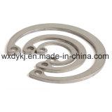 Aço inoxidável 304 grampos de retenção para o furo