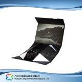Rectángulo de empaquetado de papel de la cartulina de encargo para los accesorios/la ropa de la ropa (xc-apb-001)