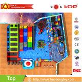 L'euro de parc d'attractions de centre de jeu badine le matériel d'intérieur de cour de jeu