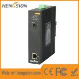 1 Gigabit Ethernet en 1 SFP Schakelaar van het Netwerk van Nport van de Vezel Industriële