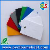 panneau en plastique de PVC de PVC de feuille de PVC de 7mm