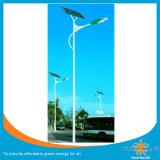 luz de rua 8W solar Integrated